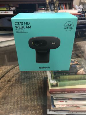 Logitech c270 webcams brand new in box! for Sale in Washington, DC