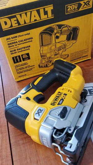 NEW DeWALT 20vMAX Brushless XR 7-Speed Jigsaw (Tool Only) for Sale in CORNWALL Borough, PA