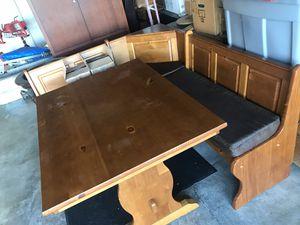 Tables and breakfast nook for Sale in El Cajon, CA