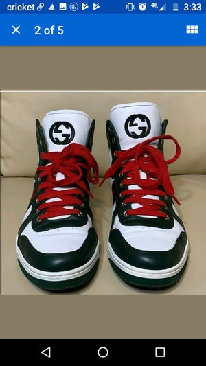 Gucci hi tops for Sale in West Valley City, UT