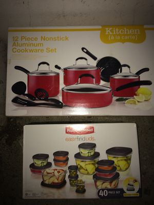 Premium cookware set and storage containers for Sale in Irvine, CA