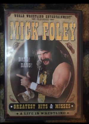 2004 Mick Foley - Greatest hits and misses Dvd for Sale in Milnesville, PA