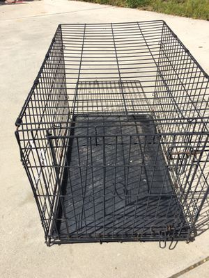 Collapsing dog cage for Sale in Poway, CA