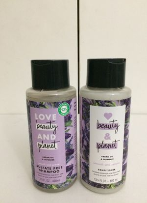 Love Beauty and Planet Argan Oil & Lavender Shampoo and Conditioner Combo Set for Sale in Los Angeles, CA