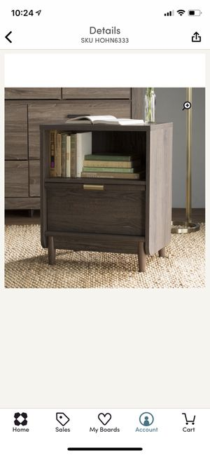 Drawer Nightstand for Sale in Orlando, FL