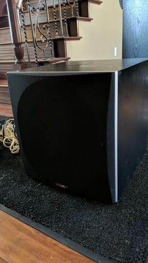 Polk Audio subwoofer PSW505 for Sale in Riverside, CA
