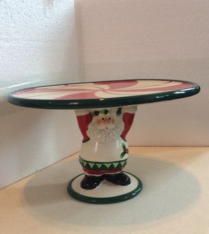 "Fitz & Floyd ""Santa's Kitchen"" Footed Server for Sale in Pittsburgh, PA"