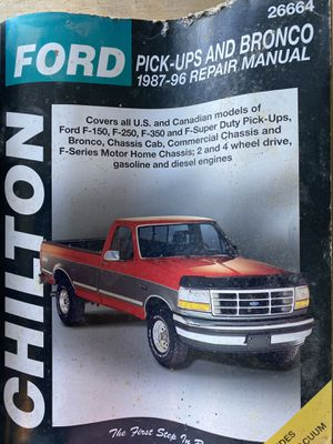 Older Ford truck Chiltons and parts. for Sale in Litchfield, OH
