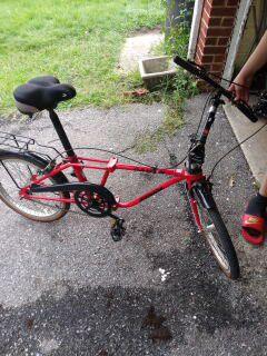 Folding bike Dahon getaway for Sale in UNIVERSITY PA, MD