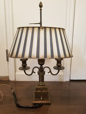 Antique 1920's Bronze Lamp with Candelabra for Sale in Queens, NY