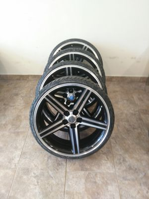 """22"""" black and Machine irocs for Sale in St. Louis, MO"""