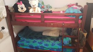 Wooden bunk bed for Sale in Fremont, CA