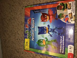 Pj mask board memory game for Sale in Lakeside, CA