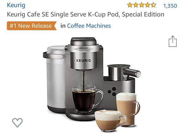 Keurig cafe special edition