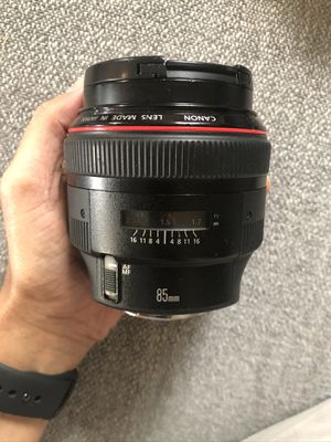 Canon 85mm F1.2L II USM lens for Sale in Seattle, WA