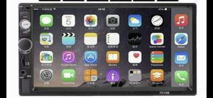 """Car stereo 7"""" with back up camera for Sale in Hollywood, FL"""