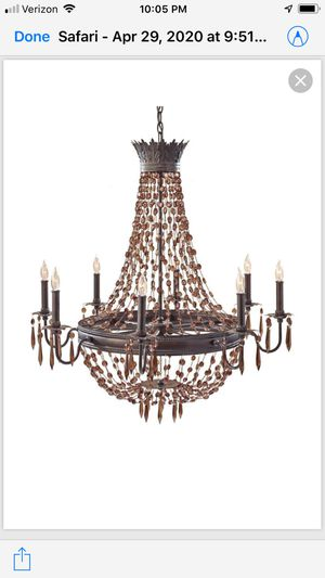 FEISS F2803/8RI Crystal Chandelier for Sale in Philadelphia, PA