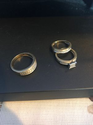 Set of wedding rings (3) for Sale in East Carondelet, IL