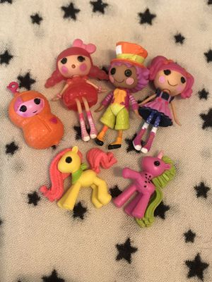 Lalaloopsy mini dolls for Sale in Stockton, CA