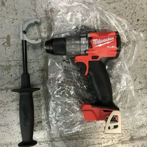Milwaukee M18 Fuel Brushless Cordless 1/2 in. Hammer Drill / Driver. Model#2804-20. Tool-Only. for Sale in Elmwood Park, IL