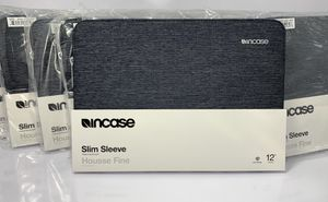 """Incase Slim Sleeve For MacBook 12"""" or Any 12"""" Laptop Or tablet Color: Heather Navy for Sale in Los Angeles, CA"""