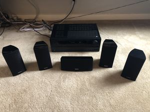 Onkyo Surround Sound Receiver and Speakers. for Sale in Whittier, CA