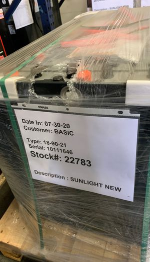 Forklift battery 18-90-21 new 900AH for Sale in Santa Ana, CA