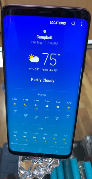 Samsung Galaxy s9 plus Unlocked Work Worldwide For any Carriers for Sale in Newark, CA