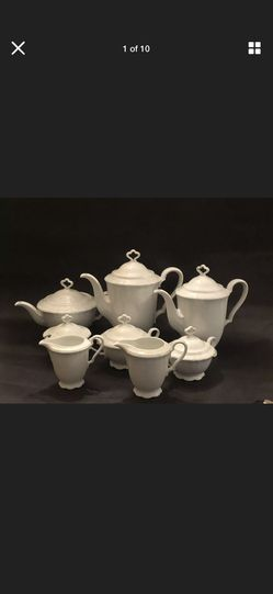 Marie Luise Bayr. Ostmark White China Set for Sale in Kensington,  MD