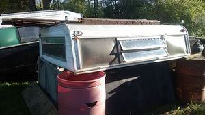 Camper off 8-foot bed all of older truck price of seventies or eighties aluminum. Fits full size truck s for Sale in Indianapolis, IN