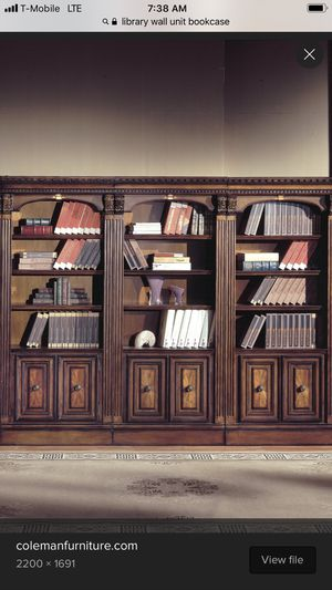 8 Bookshelves or Custom Library Wall $20 each for Sale in Escondido, CA