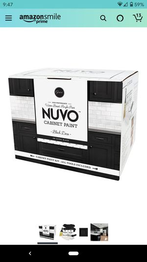 Nuvo cabinet paint kit - black for Sale in National City, CA