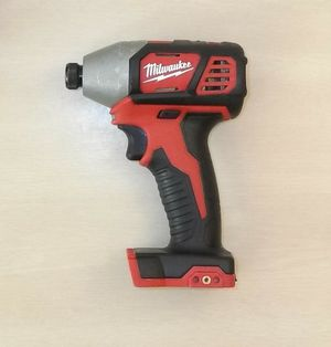 Milwaukee M18 Impact Driver for Sale in Puyallup, WA