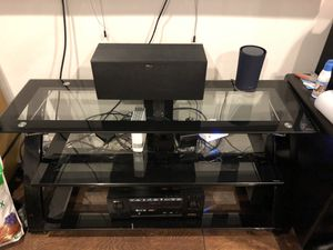 Glass top media center for Sale in Seattle, WA