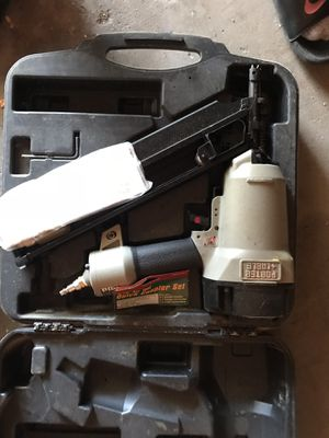 Porter cable nail gun for Sale in Cleveland, OH