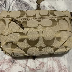 Coach Signature canvas bag for Sale in Portland, OR