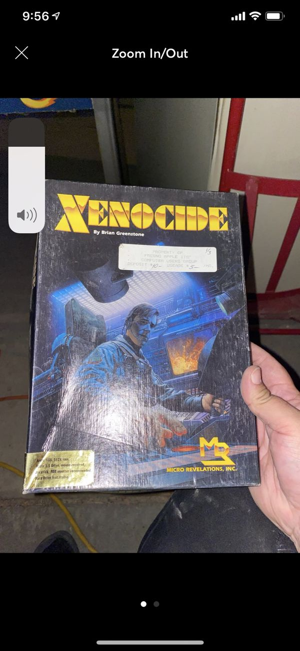 Old computer game