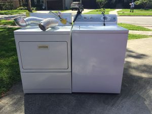 GE washer and Kenmore gas drier for Sale in Houston, TX