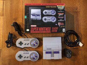 Super Nintendo Classic Edition jail broken 100+ games SNES for Sale in Irvine, CA
