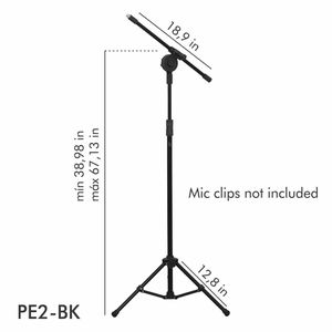 Microphone Stand (adjustable folding tripod boom microphone stand) for Sale in Woodstock, GA