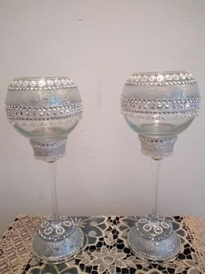 wine glasses for the wedding ceremony. for Sale in Cleveland, OH