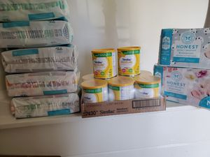 Baby formula & newborn Pampers for Sale in Huntington Beach, CA