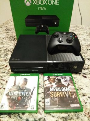 XBOX ONE 1TB ((1000GB)) PERFECT CONDITION 💯👌 for Sale in Laveen Village, AZ