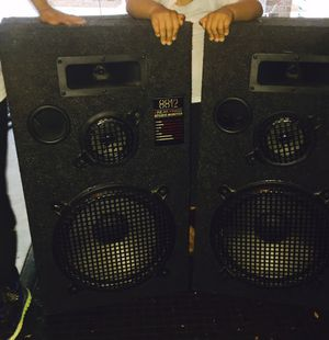 Woofers , Tweeters, and Boxes for Sale in Atlanta, GA