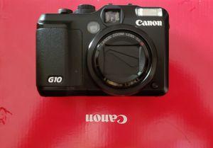 Canon powershot G10 digital camera for Sale in Buford, GA