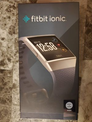 BLUE GRAY BAND FITBIT IONIC for Sale in Hartford, CT