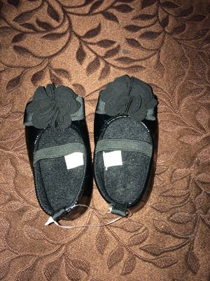 """""""New"""" Stepping Stone Black Baby Girl Shoes for Sale in Chula Vista, CA"""