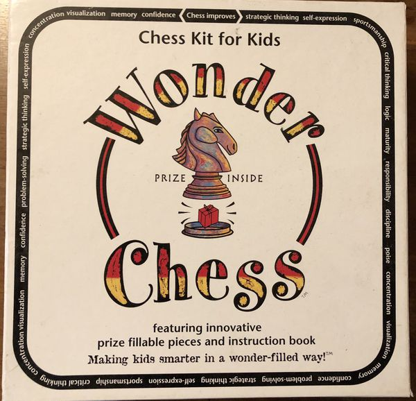 Chess board game. Teaching style for kids.