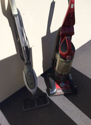 Shark steam mop and bissel wind tunnel pro for Sale in Apache Junction, AZ