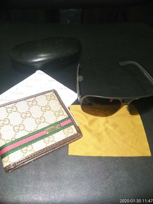 Gucci wallet and Shades for Sale in UPR MARLBORO, MD